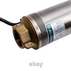 0.75KW 97m Pompa Sommersa per Pozzo Profondo 1HP 6000 L / H Con 20m Cordone