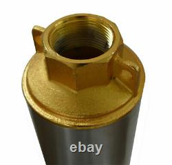 110V 1inch Outlet Submersible Deep Well Water Pump for Clear Water Only Newest