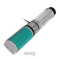 12/24V DC Submersible Pump Lift 22m 600W Deep Well Water DC Pump Alternative Ene
