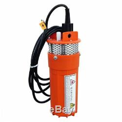 12V Solar Deep Well Water Pump Submersible for Livestock Watering Cabin