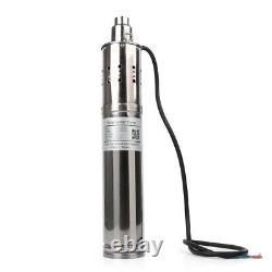 180W 12V Solar Powered Water Pump Submersible Bore Hole Pond Deep Well Pump New