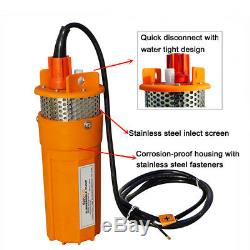24V Farm & Ranch Submersible Deep Solar Well Water Pump for Watering Irrigation