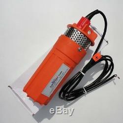 24V Submersible Deep DC Solar Well Water Pump Solar battery alternate energy USE