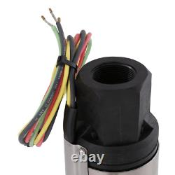 3/4 Hp Submersible 3-Wire Motor 10 Gpm Deep Well Potable Water Pump