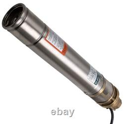 3 750W 2400L/H Deep Well Borehole Pump Submersible Water Pump 1HP new