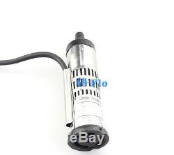 3'' DC Brushless Solar Water Pump for Deep Well 12V 3m3/h 30m Head Submersible