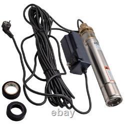 3 Elettropompa Sommersa Pompa Profonda Per Pozzi Acqua Sabbia Irrigazione Pozzo