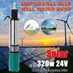 320W DC 24V 5m³ Electric Vehicle Solar Powered Deep Well Water Pump Submersible
