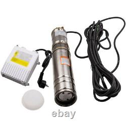 35° Garden Home Pump 4 750W 2800L/H Deep Well Borehole Water Pump + 15m Cable