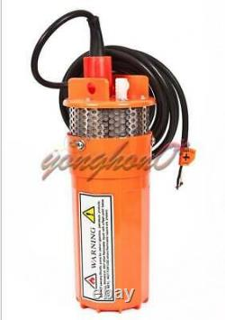 360LPH 70M Lift Small Submersible Power Solar Water Pump Outdoor Deep Well 12V