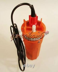 360LPH 70M Lift Small Submersible Power Solar Water Pump Outdoor Deep Well 24V