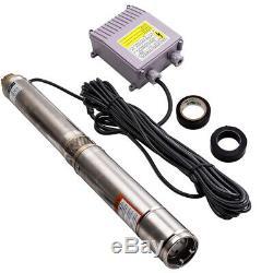 370KW 0.5HP Pompa Sommersa Per Pozzi Pompa Profondità 3.800 L/H Pompa Sommersa