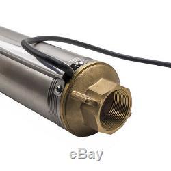 4 102 mm Pompa Sommersa 1.5HP Elettropompa acciaio inox 1000W 102m per Pozzi