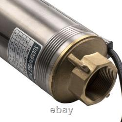 4 370W Borehole Deep Well Submersible Water Pump LONG LIVE 8 Impellers New