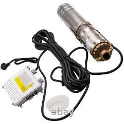 4 500W Pozzo Profondo Pompa Sommergibile Pompa Sommersa + Quadro Elettrico