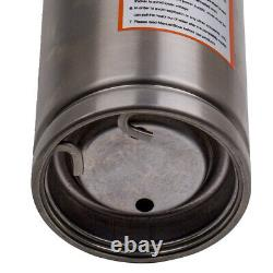 4 750W 2600L/H Submersible Pump Water Pump Deep Well Stainless Steel +15m Cable