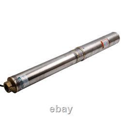 4 deep well pump 9,7bar 6000l / h 4 inch well pump water pump stainless steel