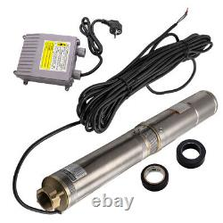4 inch 370W Borehole Deep Well Submersible Water Stainless Steel 6000L/H IP68