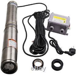 4 inch 550W Pompa Sommersa per Pozzo Profondo Acciaio Inossidabi deep well pump