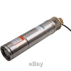 4 inches 1HP 102 mm Elettropompa pompa sommersa per pozzi 750 W 54 m 2600 L/H