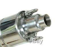 48V 3.5 Deep Well Submersible Water Pump 1320GPH, 489W, 49.2FT Solar Battery Pump