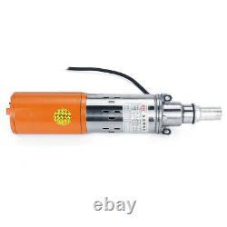 48V/60V 1.2M/H 55M Max Lift Deep Well Pump Submersible Water Pump Solar Energy