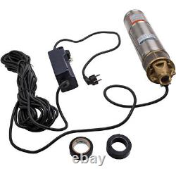 4inch 750W 2600L/H Borehole Deep Well Submersible Water Pump Max. 20 30 starts