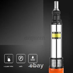 600W 48V/60V 3m³/h 45M Water Pump Solar Max Lift Deep Well Pump Submersible