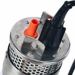Amarine-made 24V Stainless Shell Submersible 3.2GPM 4 Deep Well Water DC Pum