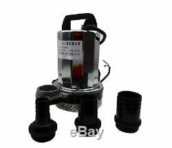 BokyWox DC12V, 240W Deep Well Submersible Water Pump, Solar Power & Battery Energy