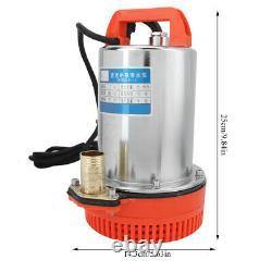 DC 12V Submersible Deep Well Water Pump Irrigation Water Pump GS