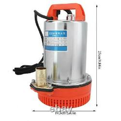 DC 12V Submersible Deep Well Water Pump Irrigation Water Pump Household