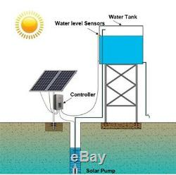 DC 24V Power Submersible Deep Solar Battery Well Fountain Water Pump Alternative