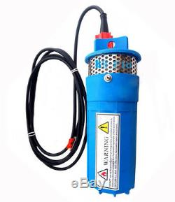 DC 24V Solar Max 230FT+Lift Deep Well Irrigation Submersible Water Pump