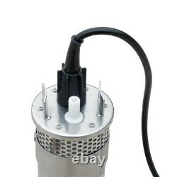 DC 24V Stainless Steel Submersible Deep Solar Well Water Pump for Farm Ranch