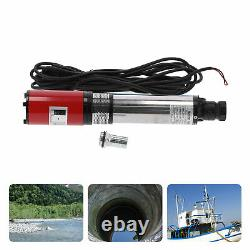 DC24V Solar/Battery Deep Well Water Pump Submersible for Irrigation 35M