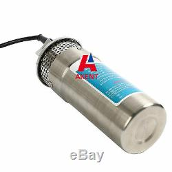 DC24V Stainless Shell pump Submersible Deep Well Water DC Pump 24LPM/6.4GPM