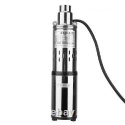 DC48V Deep Well Submersible Screw Pump Stainless Steel ³/h Electric Water Pump