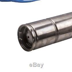 Elettropompa Sommersa Per Pozzi Da 4 750w Con Cavo E Quadro Girante In Ottone