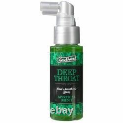 Goodhead Good Head Deep Throat Oral Sex Numbing Spray Mystical Mint 2 oz