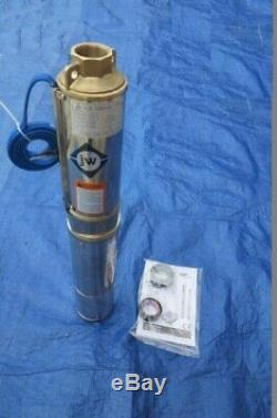 New Submersible Deep Well water Pump 1/2 0.5 HP 110V