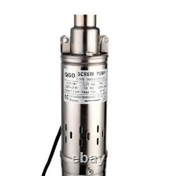 SHYLIYU 220-240v 0.33hp Screw Water Pumps PT 3 Deep Well Submersible Pump 230ft