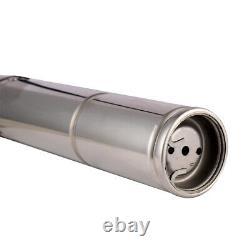 SHYLIYU 220-240v 0.7hp Screw Water Pump PT 3.5 Deep Well Submersible Pump 328ft