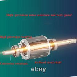 SHYLIYU Deep Well Submersible Bore Water Pump 220V50Hz 1/2HP 2.5 Tube 148ft CA