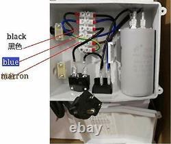 SHYLIYU Deep Well Submersible Pump 4 OD Diameter Stainless Steel Water Pump