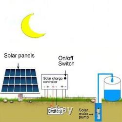 Solar Water Pump Deep Well Pump Submersible Pump Irrigation Garden Home Agricult