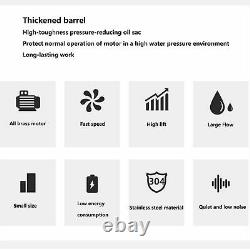 Solar Water Pump Submersible Deep Well Water Pump Bore Hole 48VDC 5m³/hour
