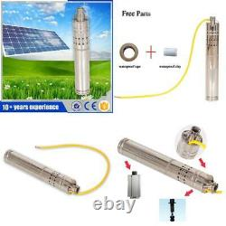 Stainless Steel Submersible Solar Pump For Well 12V Solar Pump Dc Deep Well Sola