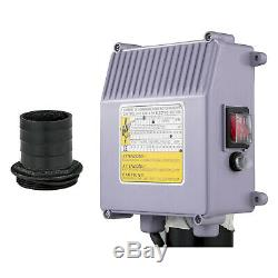 Submersible Water Pump, Deep Well, 4, 1.5HP, 220V, 341 ft Head, Heavy Duty