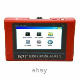 Underground Water Detector Borehole Drilling 150 Meter Deep Borehole Well Detect